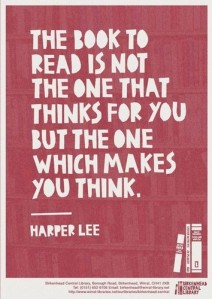 WRITING QUOTE - LEE, HARPER