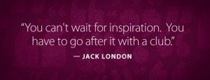 WRITING QUOTE - LONDON, JACK