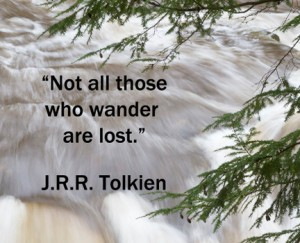 WRITING QUOTE - TOLKIEN, J.R.R.