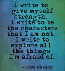 WRITING QUOTE - WHEDON, JOSS