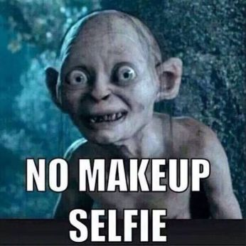 Risultati immagini per no make up meme